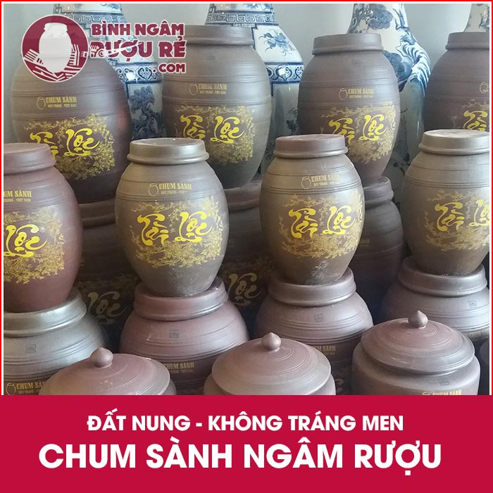 Bình ngâm rượu đường Võ Thị Sáu | Xưởng chum ngâm rượu rẻ