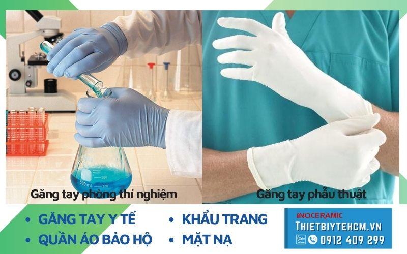 Loại găng tay y tế nào được dùng phổ biến nhất hiện nay?